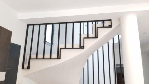 Rambarde sur escalier