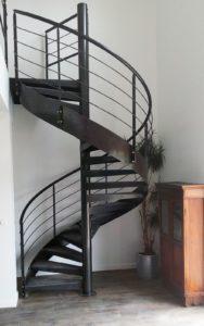 Escalier colimaçon métal Fer et Tendance