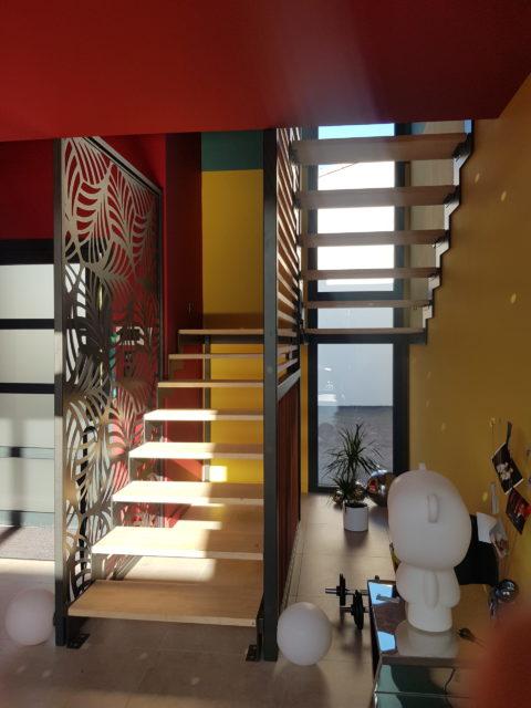 fer et tendance ferronnerie sur mesure claustra escalier toulouse