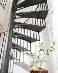 Escalier à limon hélicoïdal à Toulouse