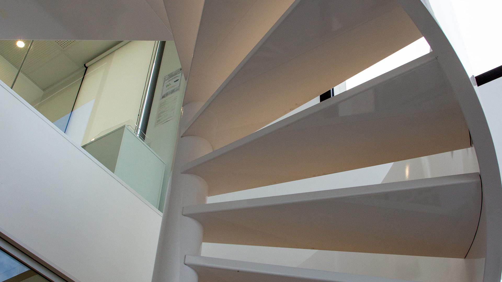 escalier à limon hélicoïdal en haute garonne