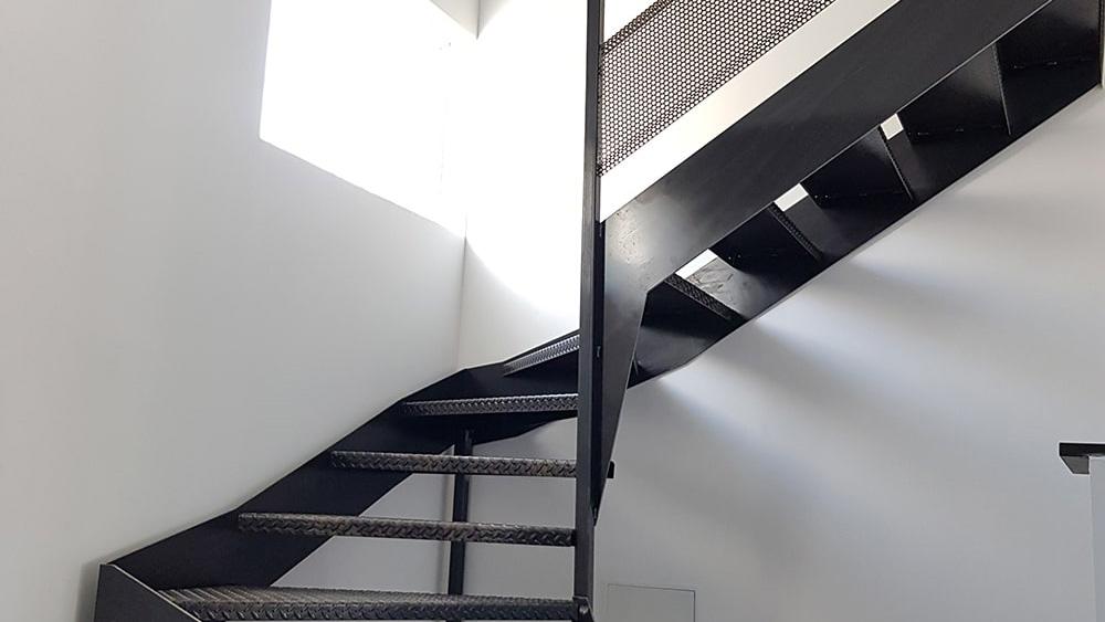 Escalier deux quart tournant à Toulouse