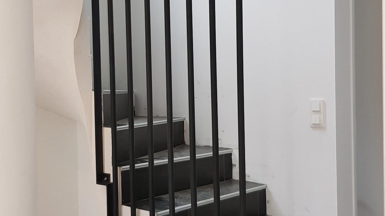 escalier métallique à Toulouse