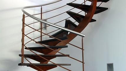 escalier colimaçon design en haute-garonne