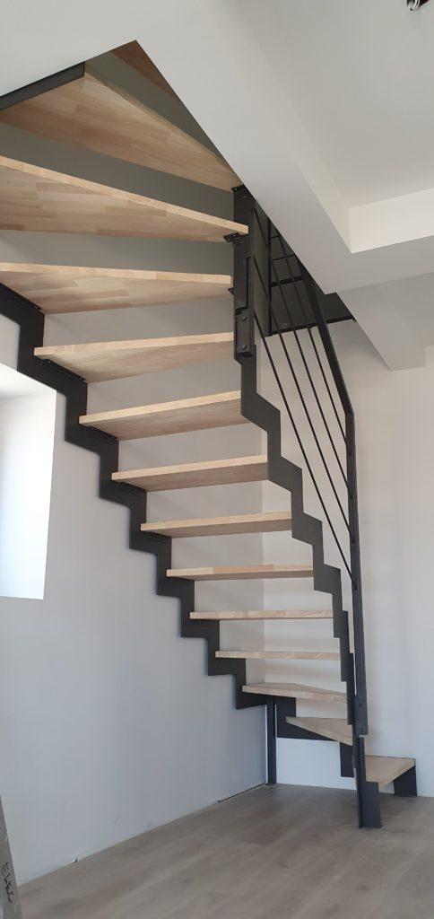 escalier à crémaillère Fer et Tendance Toulouse