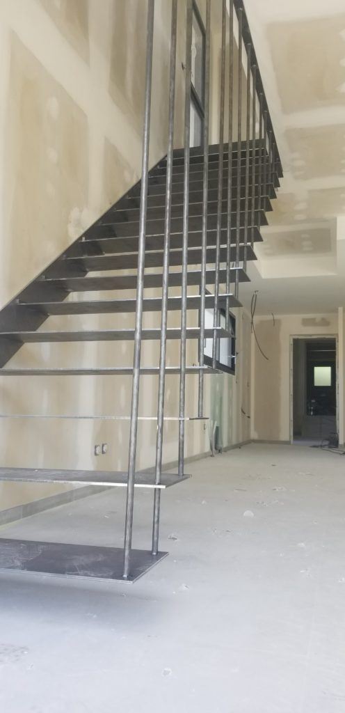 Escalier design Toulouse fer et tendance artisan ferronnier toulouse