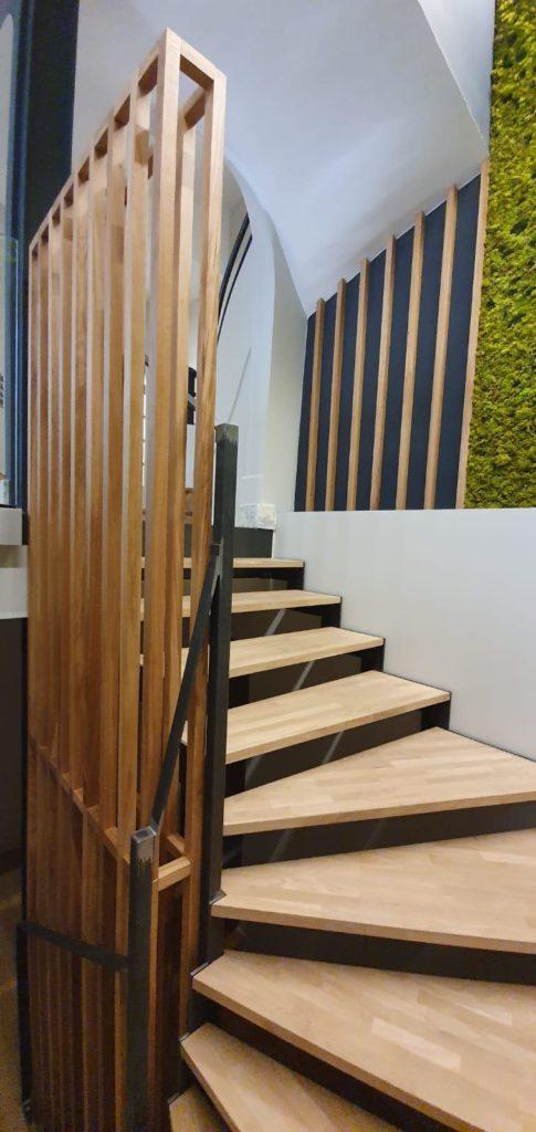 Escalier métallique déco Toulouse fer et tendance ferronnier