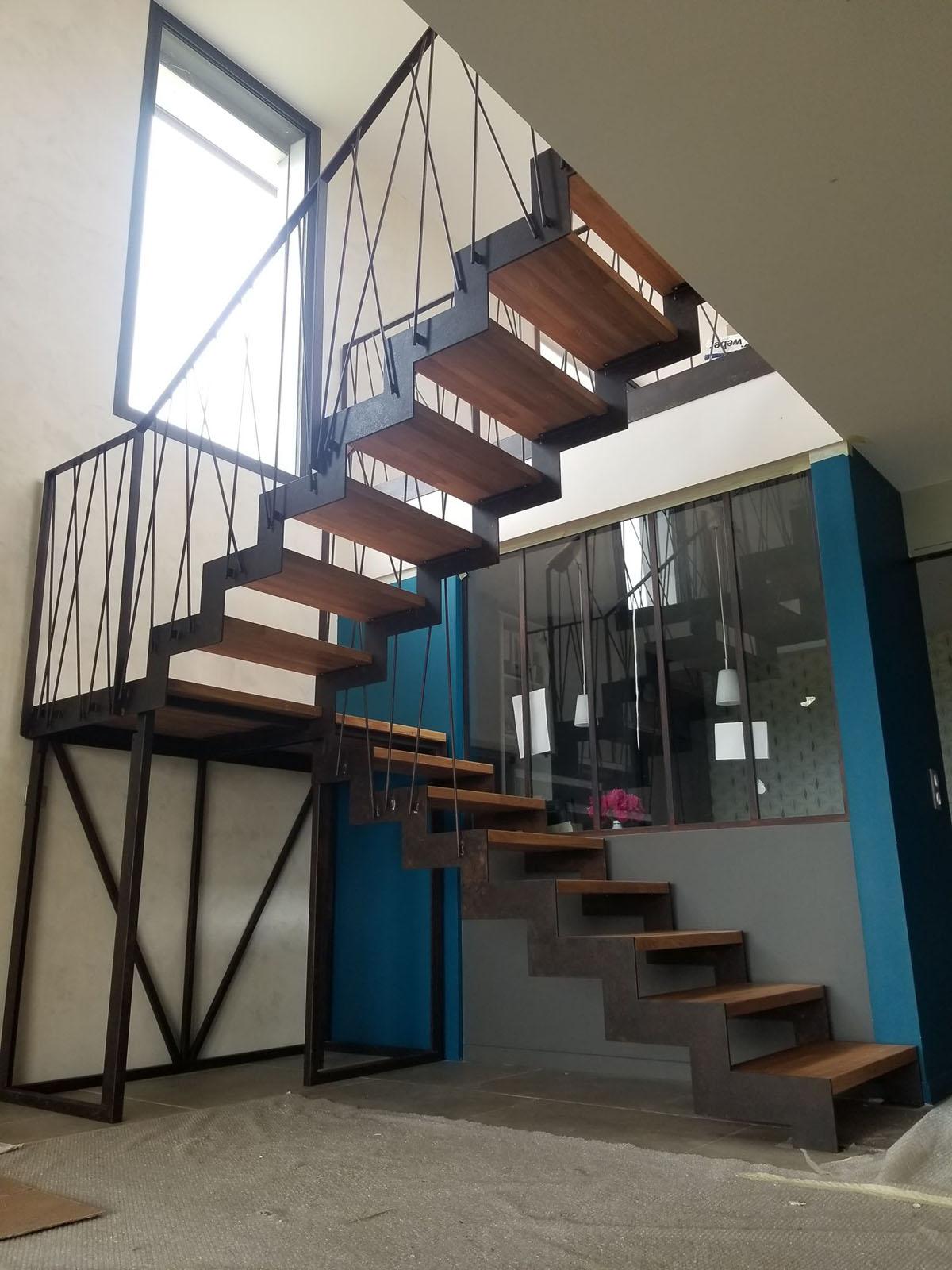 Escalier Fer et Tendance à Toulouse artisan ferronie
