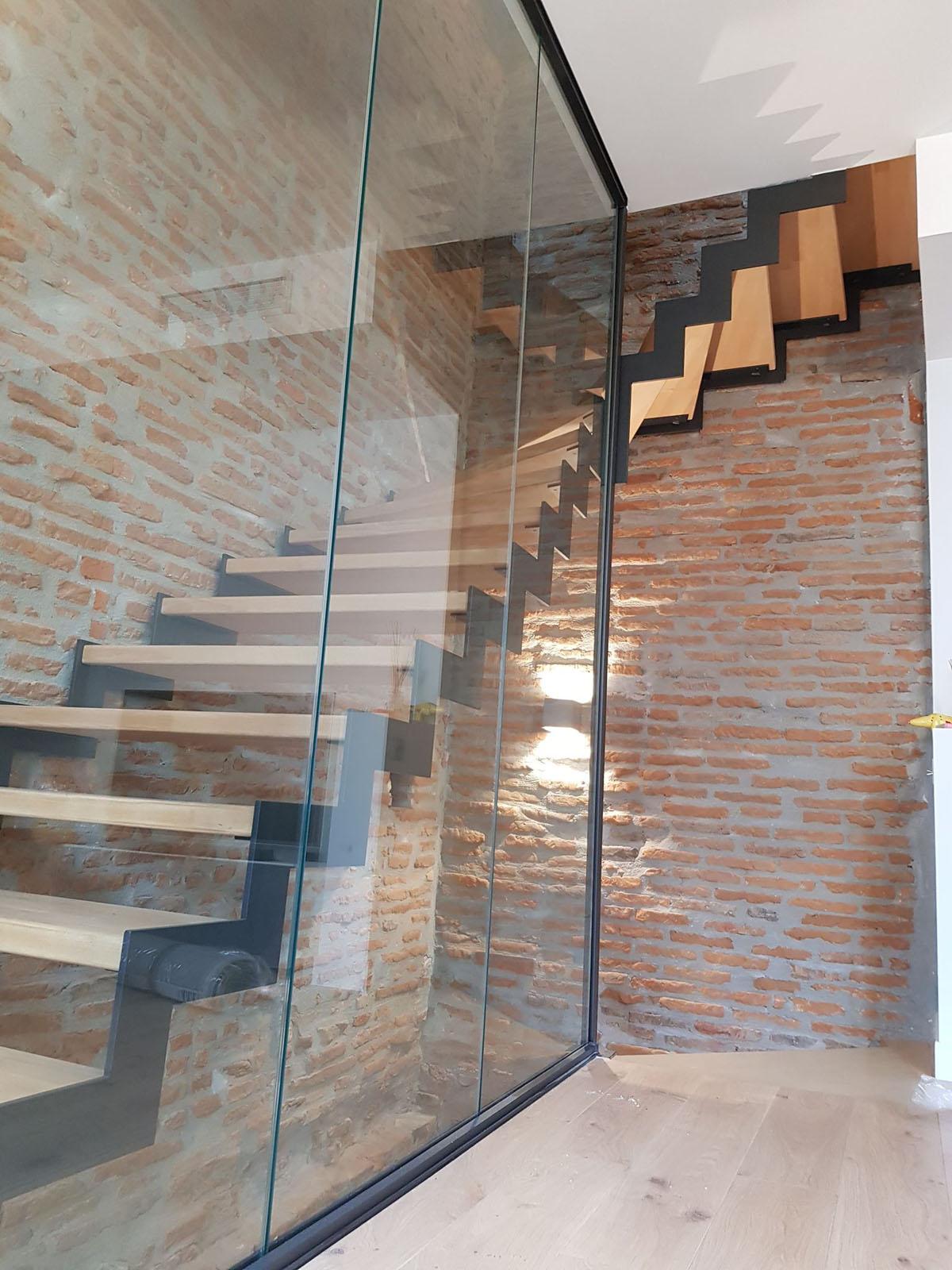 Escalier Fer et Tendance à Toulouse artisan ferronier